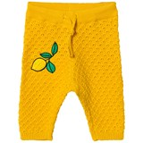 Mini Rodini Yellow Lemon Knitted Trousers