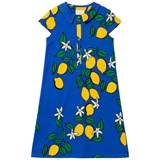 Mini Rodini Blue Lemon Shirt Dress