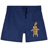 Mini Rodini Navy Turtle Swim Shorts