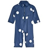 Mini Rodini Navy Dot UV Rash Suit