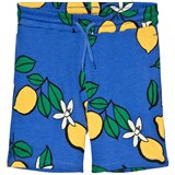 Mini Rodini Blue Lemon Sweatshorts