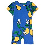 Mini Rodini Blue Lemon Sleeveless Onesie