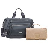 Storksak Graphite Grey Convertible Seren Bag