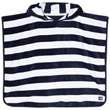 Snapper Rock Navy and White Stripe Hooded Towel