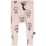 NUNUNU Powder Pink Skull Mask Baggy Leggings