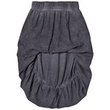 NUNUNU Grey Hi-Low Balloon Skirt