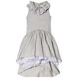NUNUNU Heather Grey Victorian Dress