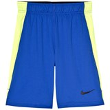 Nike Blue and Yellow Volt Shorts