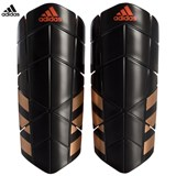 adidas Performance Black and Red Ghost Pro Shin Guards