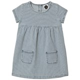 Sproet and Sprout Blue and White Denim Stripe Dress