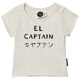Sproet and Sprout Cream Marl El Captain Print T-Shirt