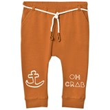 Sproet and Sprout Rust Brown Oh Crab Soft Leggings
