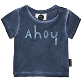 Sproet and Sprout Blue Ahoy Print T-Shirt