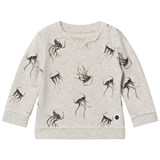 Sproet and Sprout Cream Marl Jellyfish Sweater