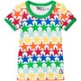 Boys & Girls Multicoloured Star Print T-Shirt