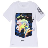 Nike White Short Sleeve Neymar Dry Hero T-Shirt