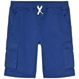 Joules Blue Cargo Drawstring Waist Shorts