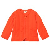 Noe & Zoe Berlin Orange Sweat Jacket with Printed Tiger on Back