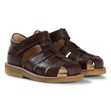 Angulus Chestnut Closed Toe Fisherman Sandals