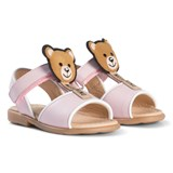 Moschino Pale Pink Bear Lolly Sandals