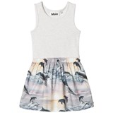 Molo Grey Dolphin Sunset Colleen Dress