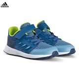 adidas Performance Blue RapidaRun Velcro and Elastic Lace Infants Trainers