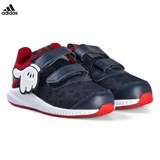 adidas Performance Navy and Red Disney Mickey Mouse Fortarun Infants Trainers