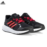 adidas Performance Black and Red Duramo 8 Trainers