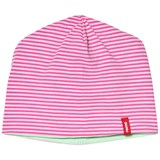 Reima Pink And Green Reversible Tanssi Beanie