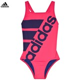 adidas Performance Pink Branded Swimsuit