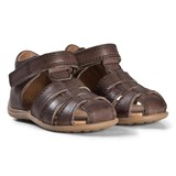 Bisgaard Brown Leather Sandals