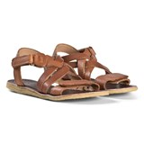 Bisgaard Cognac Summer Sandals