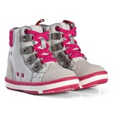 Reima Grey and Pink Lace Up Reimatec® Boots
