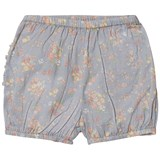 Wheat Sky Blue Floral Nappy Pants