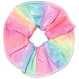 Pate de Sable Rainbow Scrunchie Hair Band