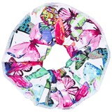 Pate de Sable Butterfly Print Scrunchie