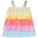 Agatha Ruiz de la Prada Rainbow Frill Strappy Dress