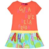 Agatha Ruiz de la Prada Orange And Green Print Dress