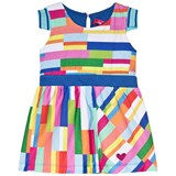 Agatha Ruiz de la Prada Multicoloured Blue Waist Band Dress