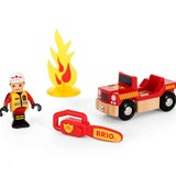BRIO World Firefighter Play Kit