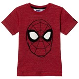 Fabric Flavours Red Spiderman Embroidered T-Shirt