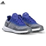adidas Performance Grey and Blue RapidaRun Uncaged Trainers