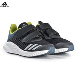 adidas Performance Grey and Silver FortaRun Velcro Trainers