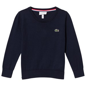 Lacoste Navy Small Logo Sweater 3 years