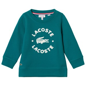 Lacoste Green Branded Sweater 2 years