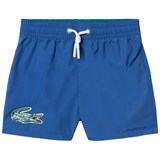 Lacoste Blue Branded Swim Shorts