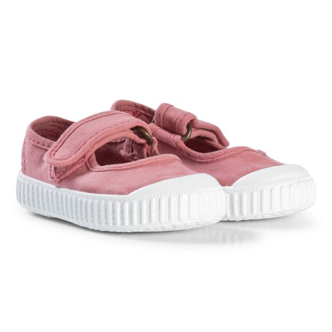 Victoria Pink Mercedes Velcro Shoes