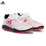 adidas Performance White and Red AltaTurf X Trainers