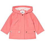 Cyrillus Pink Hooded Raincoat
