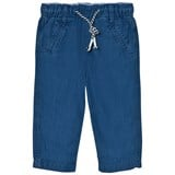 Cyrillus Blue Pull-On Trousers